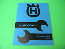 Husqvarna Chainsaw 362xp 365 372xp Service Shop Manual