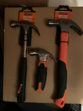 A Set Of Three Stag Tools Hammers