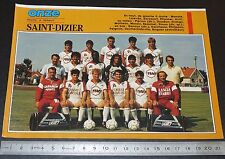 CLIPPING POSTER FOOTBALL 1987-1988 D2 CO SAINT-DIZIER