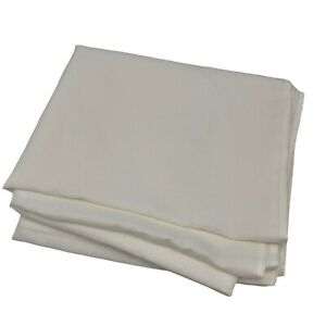 Mainstays Bright White Textured Tablecloth  60 x 102