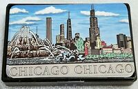 CHICAGO (IL) Souvenir CITY SKYLINE PLAYING CARDS Illinois Hong Kong Game
