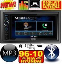 FITS/FOR 98-10 KIA HYUNDAI BLUETOOTH TOUCHSCREEN USB SD AUX CAR RADIO STEREO PKG