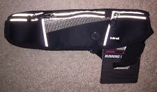 Hind Reflective Women's Adjustable Black Running Utility Belt-New