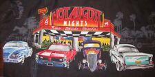 Rare Reno Hot August Nights vtg cars Impala GTO Drive-In Hawaiian shirt LARGE