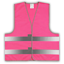 easyMesh® Signalweste Warnweste pink/magenta Größe M/L