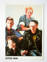 DEPECHE MODE SINGER MUSIC GRUP BAND POCKET CALENDAR CARD RARE
