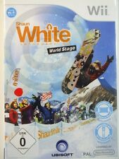 !!! NINTENDO Wii SPIEL Shaun White World Stage, gebraucht aber GUT !!!