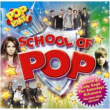Pop Party Presenta Escuela de Pop CD Nuevo Jls Jessie J Rihanna