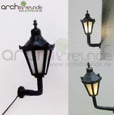 2 x LED Wandlampen Wandleuchte 2,3cm Modellbau 1:87/1:100 Eisenbahn Spur H0/TT