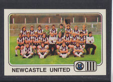 Panini - Football 79 - # 406 Newcastle Team Group