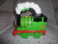 "Percy Engine Talking Flashlight Thomas The Train Mattel 2009 Carry Along 7""x8"""