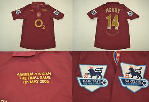 Arsenal 2005 2006 jersey shirt away last game highbury henry gunners playera