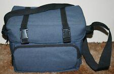 Vintage Soft Film Camera Case / Gadget Bag With Strap - Blue