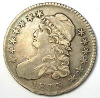 1813 Capped Bust Half Dollar 50C - VF Details - Rare Coin!