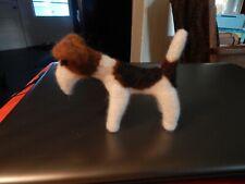 Jack the Felt Needling Airedale Terrier Sculpture