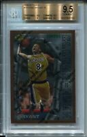 1996 Finest w Coating #74 Kobe Bryant Rookie Card RC Graded BGS Gem Mint 9.5