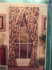 Ashley Taylor Churchill One Pair Window Panels 80x84� Floral Usa Brand New!