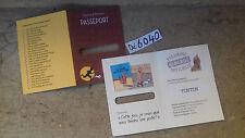 tintin, passeport  (A)  (6040)