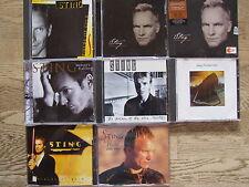 """6 CD 's & 2 Maxis Sting collezione (k2) """"Perfetto!"""""""