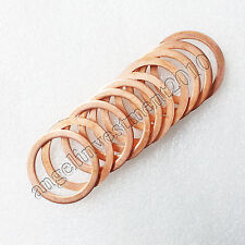 New 10pcs 18*26*1.5mm Copper gasket Copper sealing ring