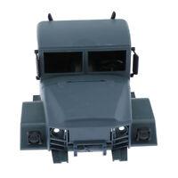 1/16 Scale RC Climbing Truck Model Car Head Body Shell Plastic for MN-35 DIY