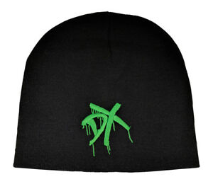 DX Green Embroidered Logo D-Generation X Beanie Cap Hat WWE