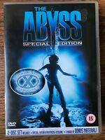 Ed Harris THE ABYSS ~ 1989 Sci-Fi Classic ~ Special Edition | Rare 2-Disc UK DVD