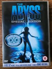 Ed Harris THE ABYSS ~ 1989 Sci-Fi Classic ~ Special Edition Rare 2-Disc UK DVD