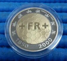 Switzerland 5 Francs 150th Anniversary of  the Swiss Franc Bimetallic Coin
