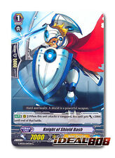 Cardfight Vanguard x 4 Knight of Shield Bash - G-BT01/047EN - C Mint