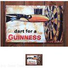 Metal Sign  Dart Beer Sign 17x11 Garage Bar Tin Man Cave Vintage Look