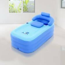 More details for portable inflatable adult spa warm bathtub blow up bath tub travel bath pool