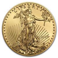 2019 1/4 oz Gold American Eagle BU - SKU#171384