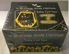 NIGHTMARE BEFORE CHRISTMAS TRADING CARD GAME BOOSTER BOX SEALED NECA - 36 PACKS