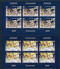 Raumfahrt Space 2009 Rumänien Romania CEPT Astronomie 6357-8 I Kleinbögen **/607