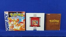 Gameboy POKEMON RED VERSION *x Genuine BOXED & COMPLETE PAL UK
