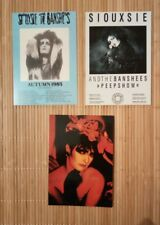 3 carte postale Siouxsie and the Banshees concert
