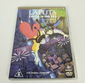 Laputa -  Castle In The Sky -  Studio Ghibli Collection DVD R4 Japanese Anime
