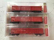 More details for  fleischmann  5284 x 3 ho high sided wagon of db ag (db cargo)