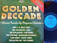 Golden Decade 1964-5 UK Compilation LP NM Decca Unit 4+2 Applejacks Zombies