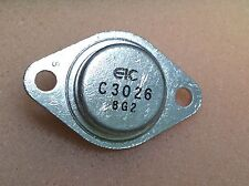 1 pc. 2SC3026  EIC  Transistor  TO3  NOS