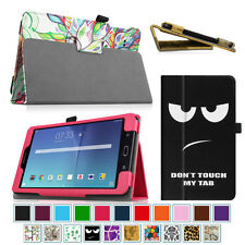 Folio Case Cover Stand For Samsung Galaxy Tab A 7.0 / 8.0 / 9.7 / 10.1 / 10.5