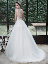 cc11ab776c9 Crystal Diamante Cap Sleeve Wedding Dresses for sale