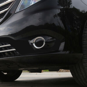 For Mercedes-Benz Vito ABS Chrome Front Fog Lamp Light Cover Trim 2pcs 2014-2019