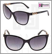 BVLGARI MUSA BV8145B Black Rose Gold Jewel Gradient Sunglasses Gradient 8145