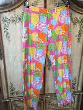 ⛳️Lilly Pulitzer Mens Golf Pants Party Chinese Lanterns 32 White @operationsmile