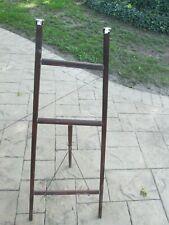 Artist Display Easel Large Wood Tripod Stand Floor Portable vintage antique