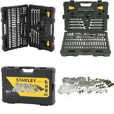 Mechanics Tool Set Wrench Sockets Kit Ratchet Ratcheting Universal 145 Piece