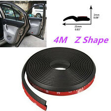 160''4M Z Shape Window Door Rubber Seal Weather Strip Hollow For Car Motor Truck