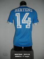 MERTENS match worn issued NAPOLI NAPLES maglia shirt belgium maillot belgio 14
